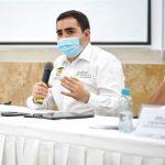 Gobernador de Bolívar, Vicente Antonio Blel, confirma que es positivo para Covid-19