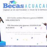 Entregan becas de estudios superiores financiadas por Aguas de Cartagena a 10 usuarios puntuales