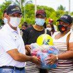 Una gran fiesta deportiva organizada por el Iderbol, vivieron los habitantes de Pinillos, sur de Bolívar
