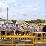 Comisión de Regulación de Agua Potable y Empresas Públicas de Medellín visitan infraestructura del acueducto de Cartagena